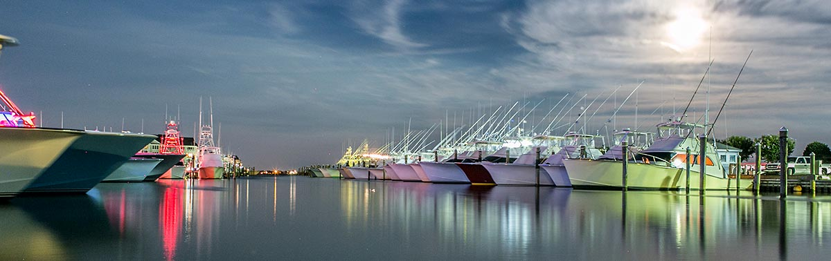 Pirates Cove Marina - Manteo NC - Charter Fishing hub of the