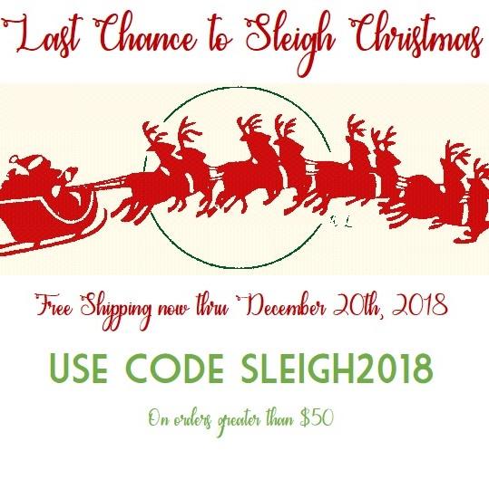 Santa sleigh square